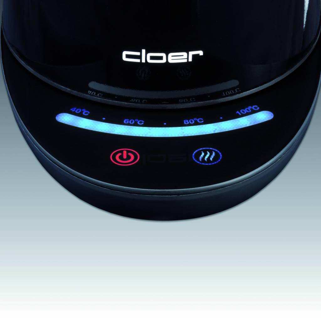 Cloer Waterkoker zwart type 4950