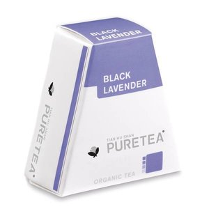 Pure Tea Black Lavender White Line 18 stuks