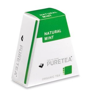 Pure Tea Natural Mint White Line 18 stuks