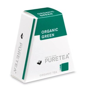Pure Tea Organic green White Line 18 stuks