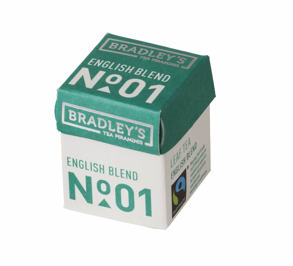 Bradley's Piramini English Blend tea 01