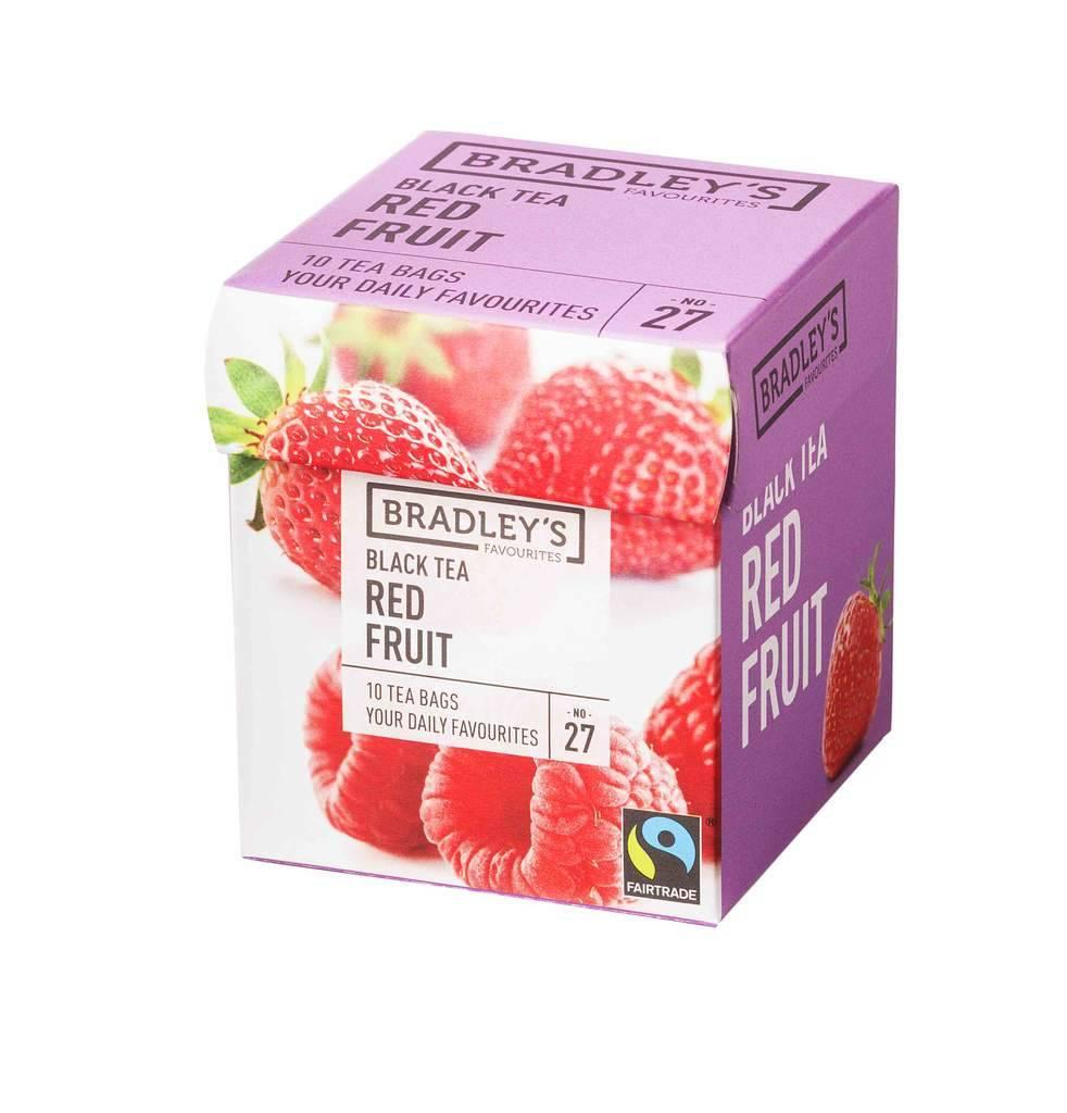 Bradley's Favourites Zwarte thee Rode vruchten 27