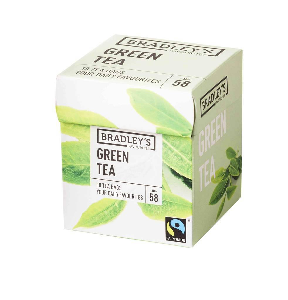 Bradley's Favourites  Green Tea 58