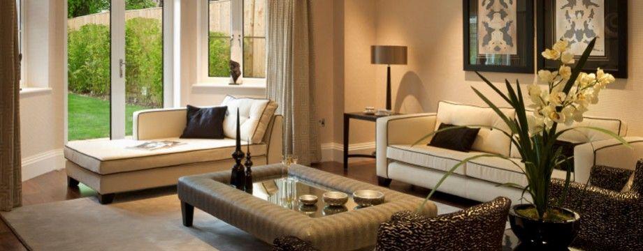 Kleurencombinaties voor uw woonkamer - Interieur van een huis ...