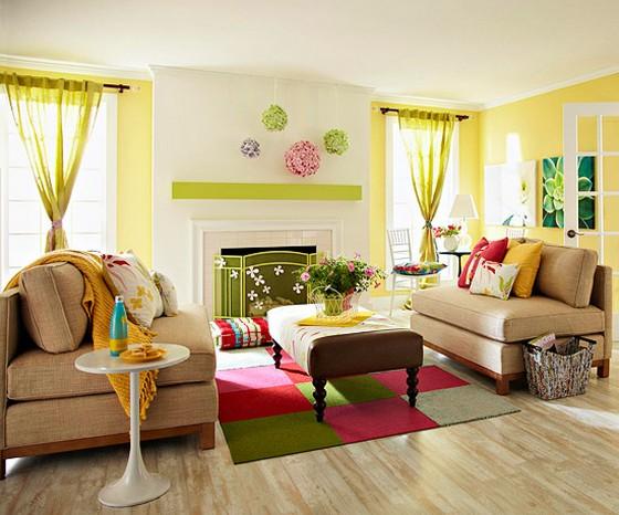 kleurencombinaties voor uw woonkamer - schilderenkanikzelf.nl, Deco ideeën