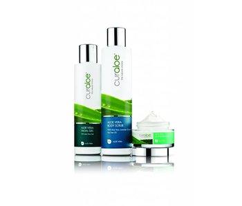 Aloe Vera Facial, Shower & Body Combo