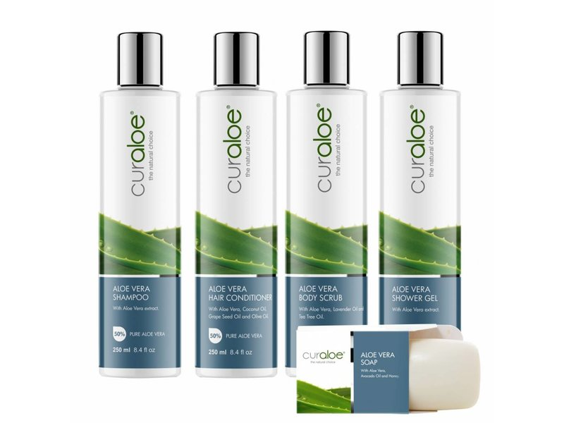 Curaloe® Shower line - Shower Combo Aloe Vera Curaloe®