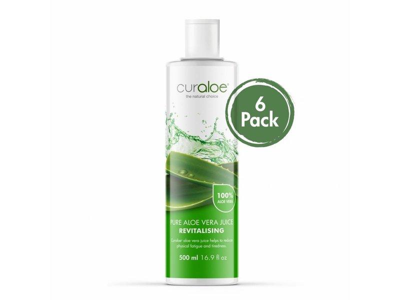 Curaloe®  Health line - 6-Pack Pure Aloë Vera Juice Curaloe® 17.0 fl oz