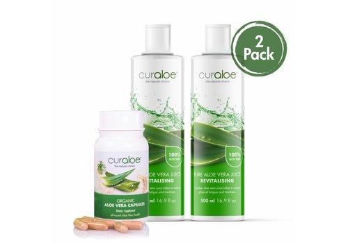Curaloe® Health line - Health combo Aloe Vera