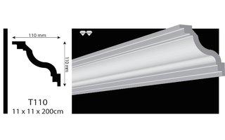 Vidella VT110 (110 x 110 mm), lengte 2 m