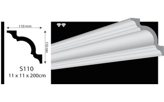 Vidella VS110 (110 x 110 mm), lengte 2 m