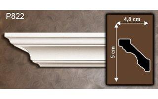 Grand Decor Sierlijsten P822 (50 x 48 mm), polyurethaan, lengte 2 m
