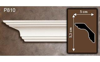 Grand Decor Kroonlijst P810 (53 x 50 mm), polyurethaan, lengte 2 m