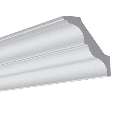 Vidella plafondlijst sierlijst vx100 95 x 100 mm for Plafond sierlijst