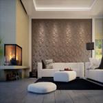 3D Wandpaneel, 3D Bamboe Wandpanelen ecovriendelijk, 3D muur, 3D wand