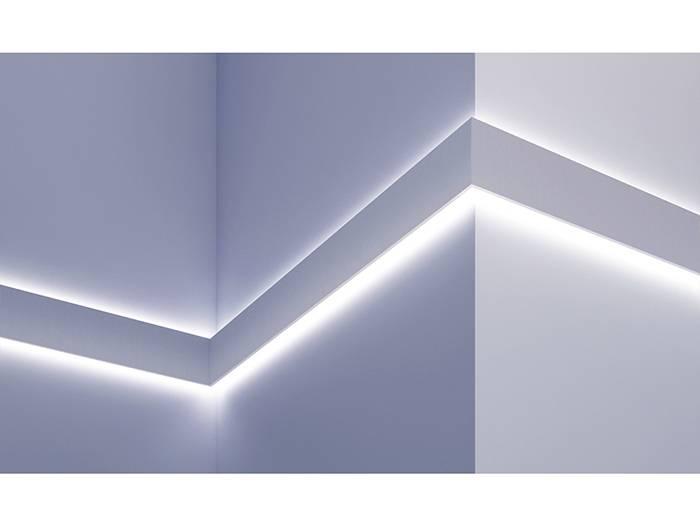 grand decor polyurethaan led sierlijst voor indirecte verlichting kf503 100 x 45 mm lengte 2 m