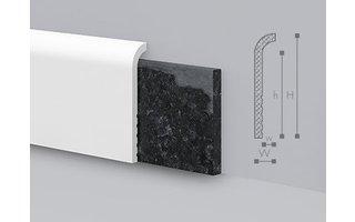 NMC Wallstyl CF1 Overzetplint (110 x 22 mm), lengte 2 m