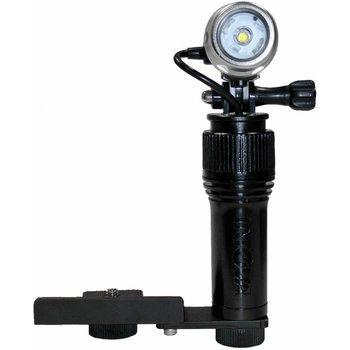Intova AVL Action Video Light, 640 lm, Lichtfarbe 6.000°K, Leuchtwinkel 120°, mit Kamera-Schiene