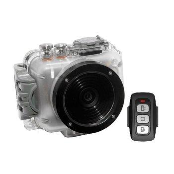 Intova Aktion-Video-Kamera Connex mit Gehäuse 60m und Anschluss für Audio-Video-Kabel