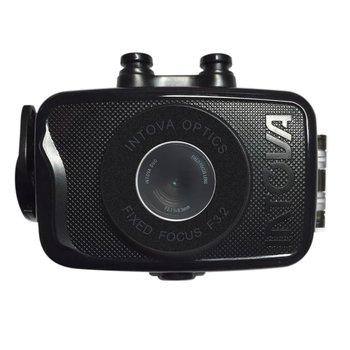 Intova Foto-Video-Kamera Duo mit Gehäuse 30 m