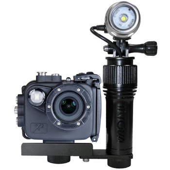 Intovatec Allround Set Action Cam X2 mit Beleuchtung AVL Action Video Light