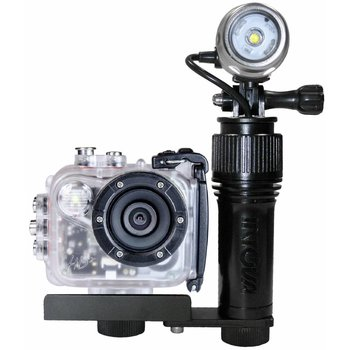 Intovatec Allround Set Action Cam HD2 mit Beleuchtung AVL Action Video Light