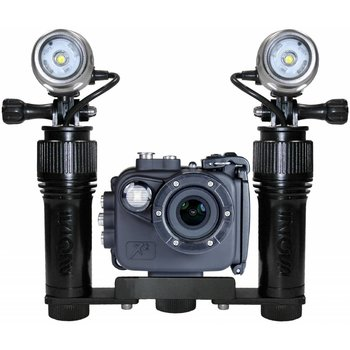 Intovatec Allround Power Set Action Cam X2 mit 2 Beleuchtungen AVL Action Video Light