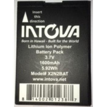 Intova Wiederaufladbarer Akku für Kamera X2 und HD2