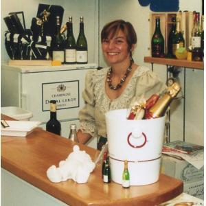festpost champagnerpost Inhaberin Iris Albrecht