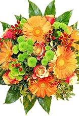 flotte Blumen Strauß fresh und frech