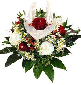 flotte Blumen Hochzeit-Strauß