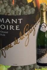 Anne de la Grézille Crémant de Loire brut und Cassis - Geschenk