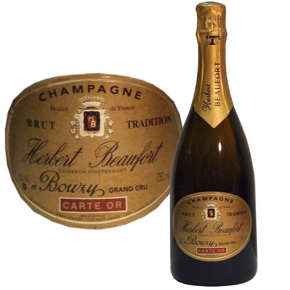Herbert Beaufort Champagner Grand Cru Carte Or