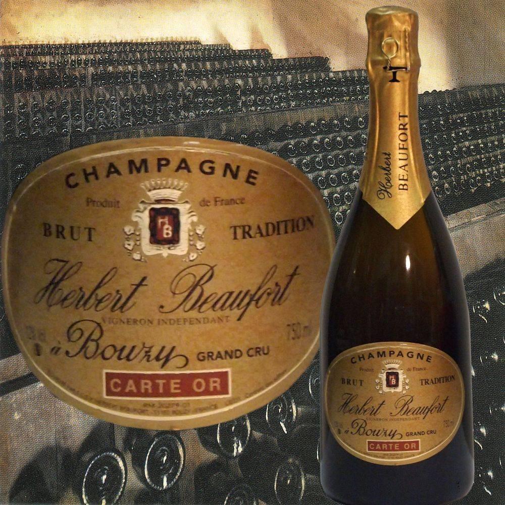 Herbert Beaufort Champagner Grand Cru Präsent