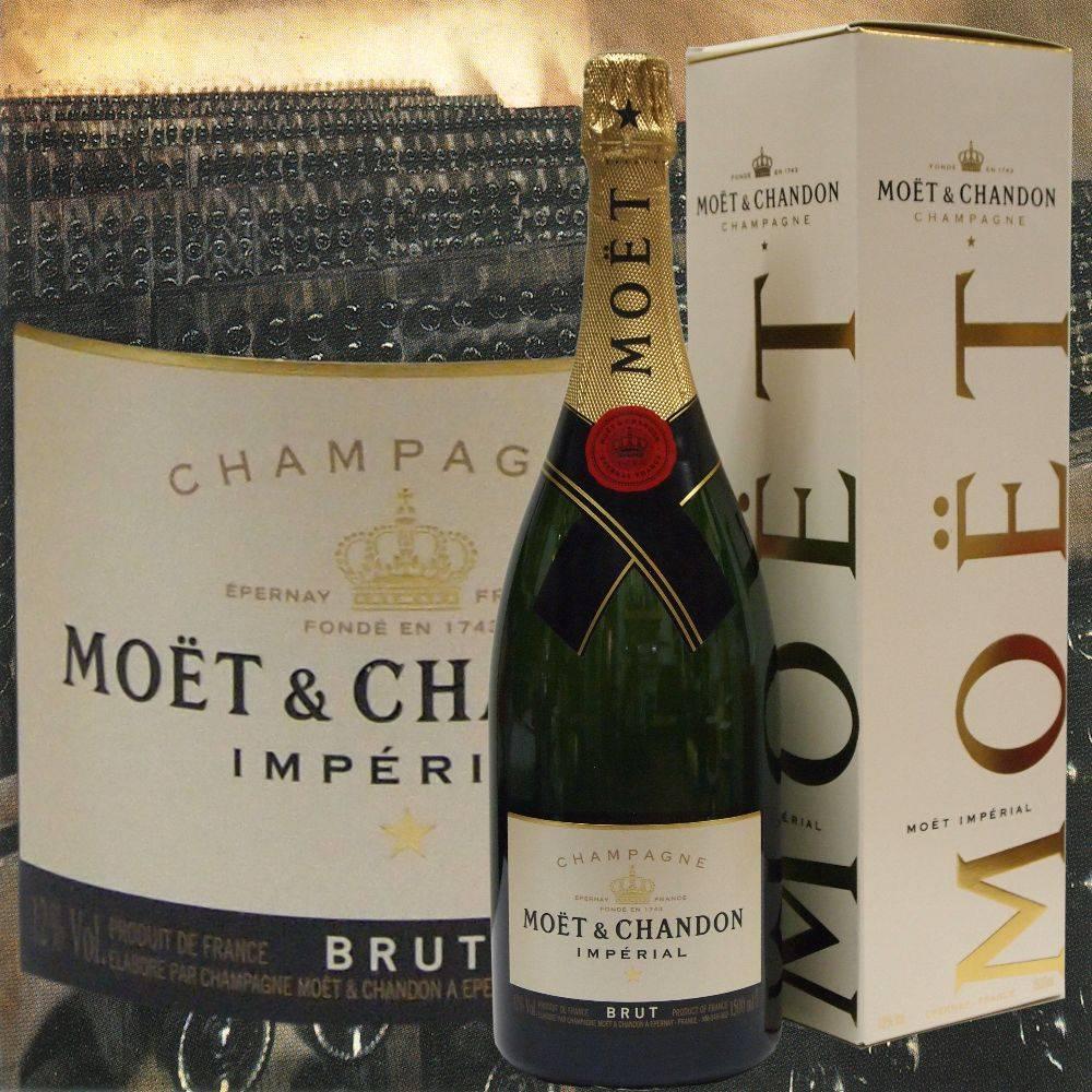 Moet & Chandon Champagner Magnum im Geschenkkarton