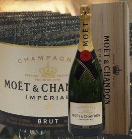 Moet & Chandon Champagner Jeroboam in der Holzkiste