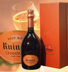 Ruinart Champagner Rosé Magnumflasche in raffinerter Geschenkbox