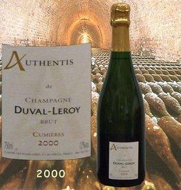 Duval-Leroy Champagner 2000 Authentis Cumières
