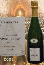 Duval-Leroy Champagner 2001 Authentis Cumières Champagne Duval-Leroy