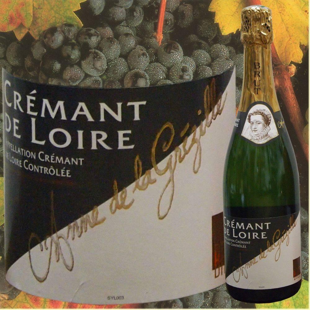 Anne de la Grézille Partypaket Kir - Crémant mit Cassis für 35 Personen