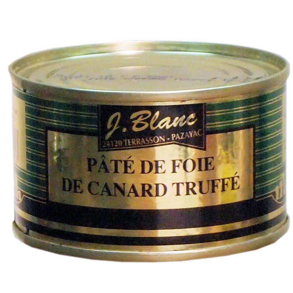 J. Blanc Entenleberpastete aus der Périgord mit Trüffel