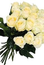 flotte Blumen Rosenstrauß in creme