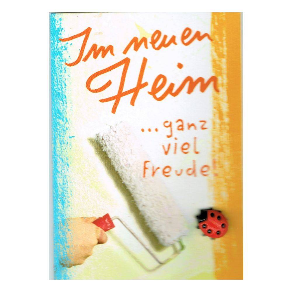 Spruch Karte Neues Heim Home And Moven