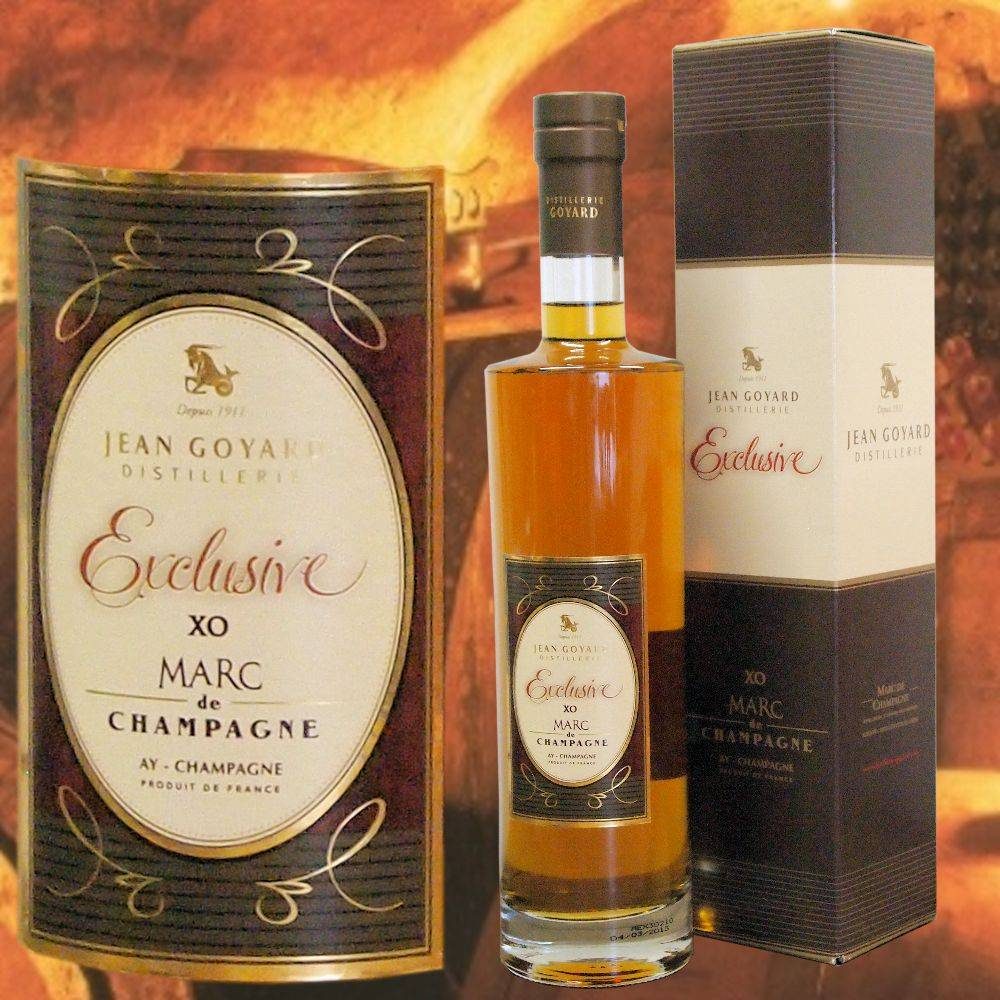 Distillerie Goyard Marc de Champagne Exclusive in Holzkassette