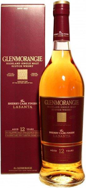 Glenmorangie Whisky 12 Jahre Lasanta Sherry Cask finished