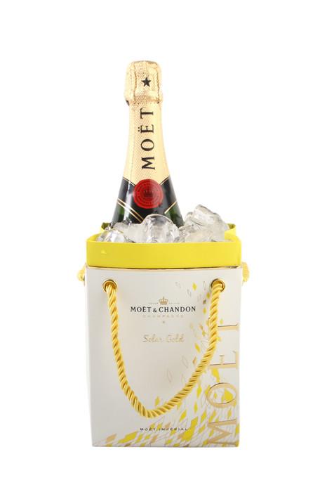 Moet & Chandon Champagner Brut Imperial in der Geschenktüte mit Zusatznutzen ideal für den Sommer nur mit Eiswürfeln füllen fertig ist der Kühler