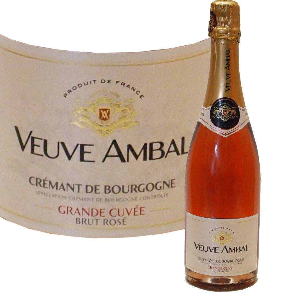 Veuve Ambal fruchtiger Rosé Crémant aus dem Burgund