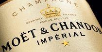 Champagner von Moet & Chandon