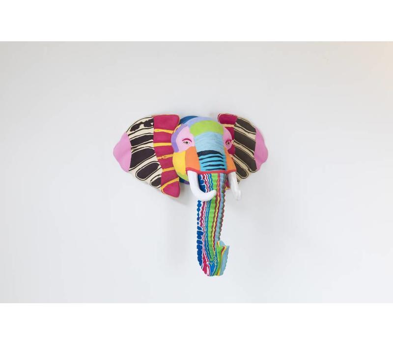 Elephant trophy head