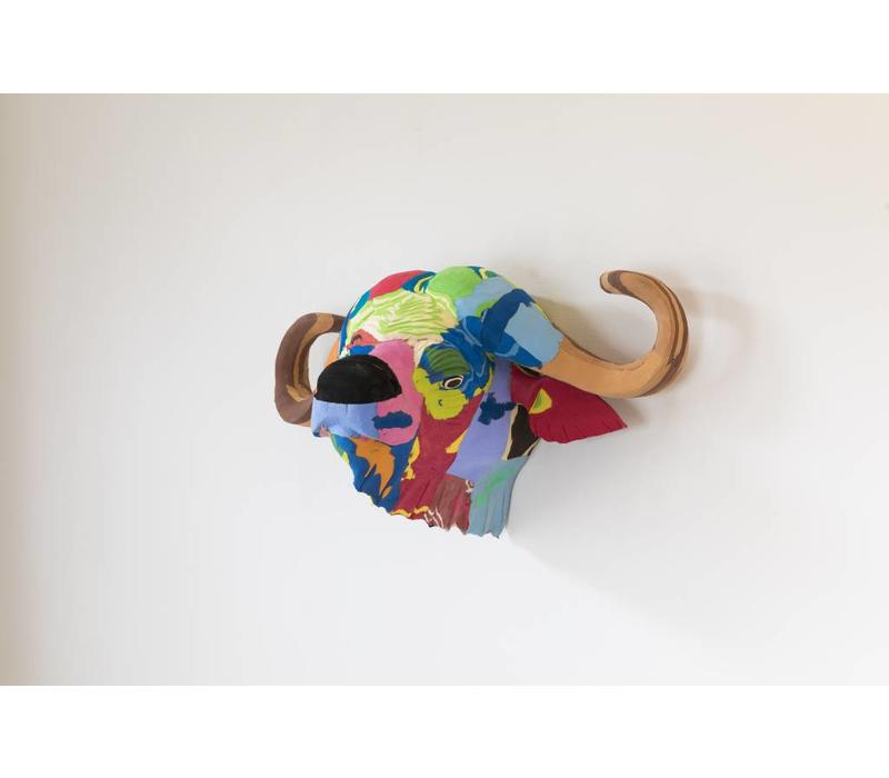 Tête de trophée Buffalo